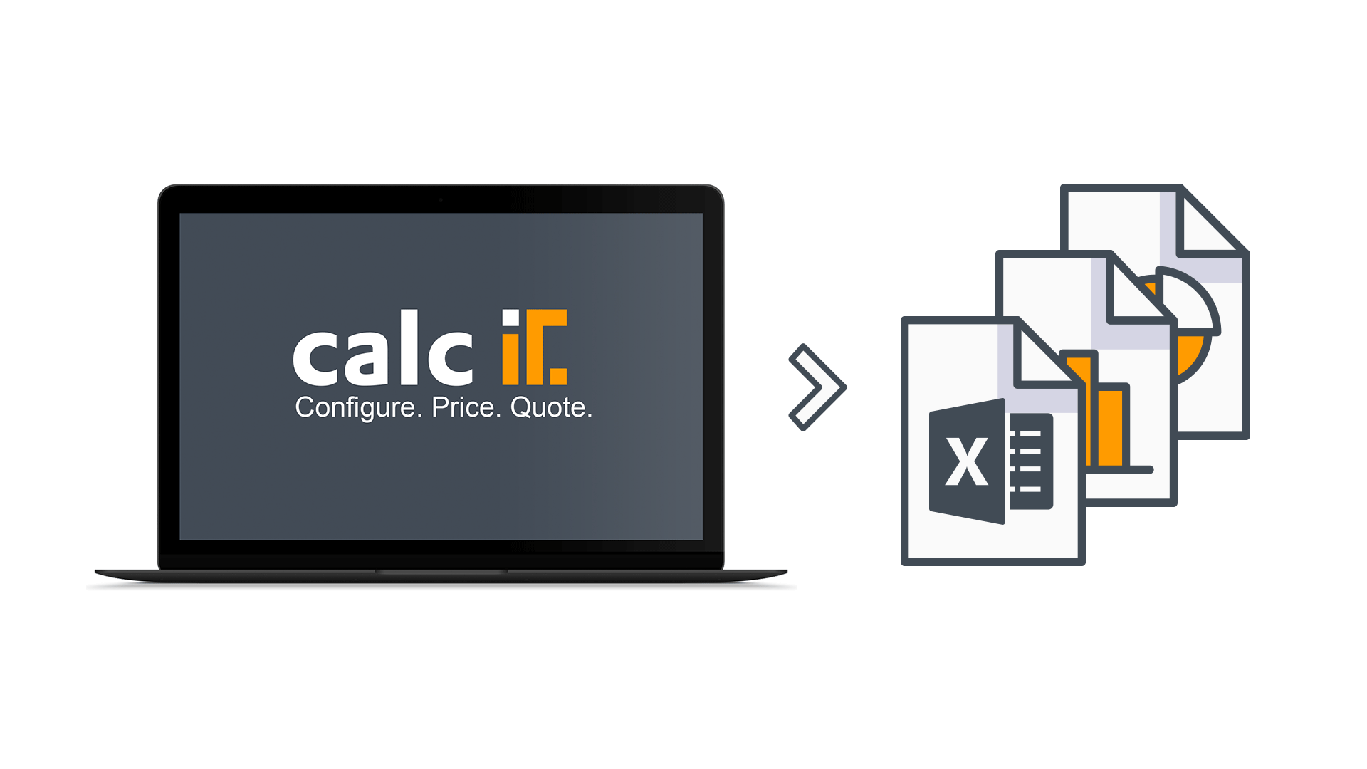 CPQ Reporting & Controlling mit calcIT: Umfangreiche Exportmöglichkeiten