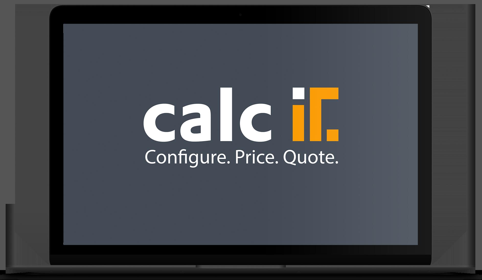 calcIT CPQ: Configure. Price. Quote.