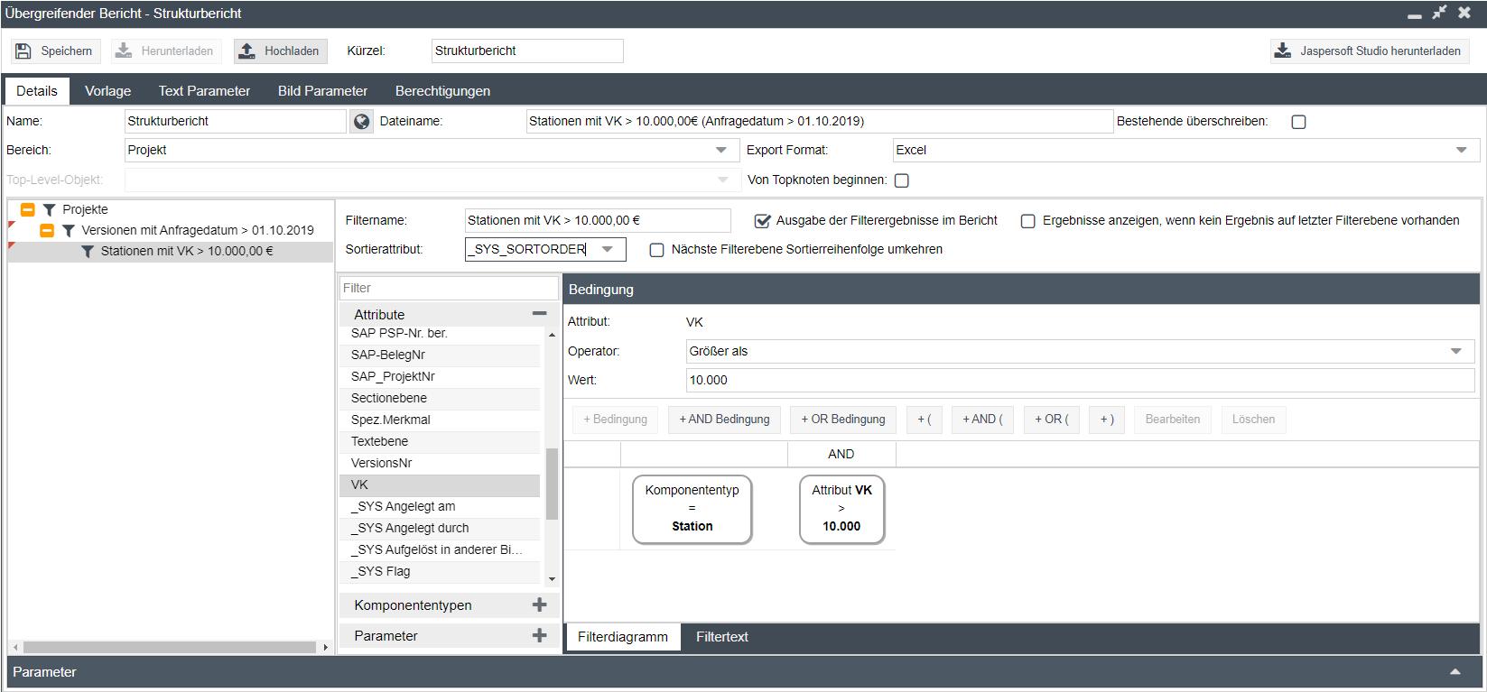calcIT_Erstellung_projektübergreifender_Berichtsvorlagen